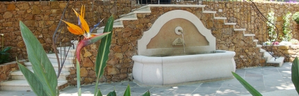 Puits, lavoir, fontaine … aux Adrets de l'Estérel (Var)