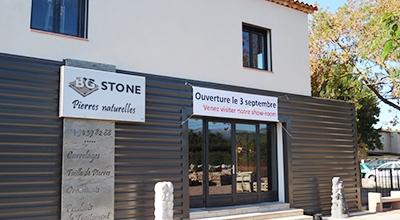 BG Stone ouvre son show-room dans le Var